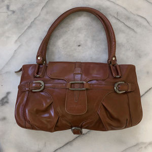 Jimmy Choo brown leather purse